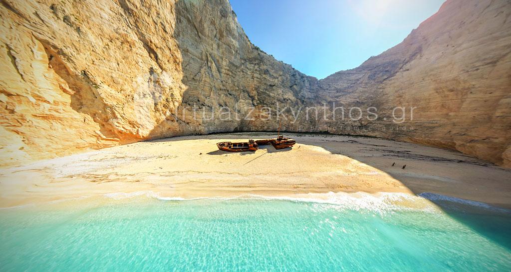 shipwreck beach navagio zante zakynthos