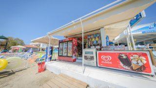 beach kiosk laganas zante zakynthos