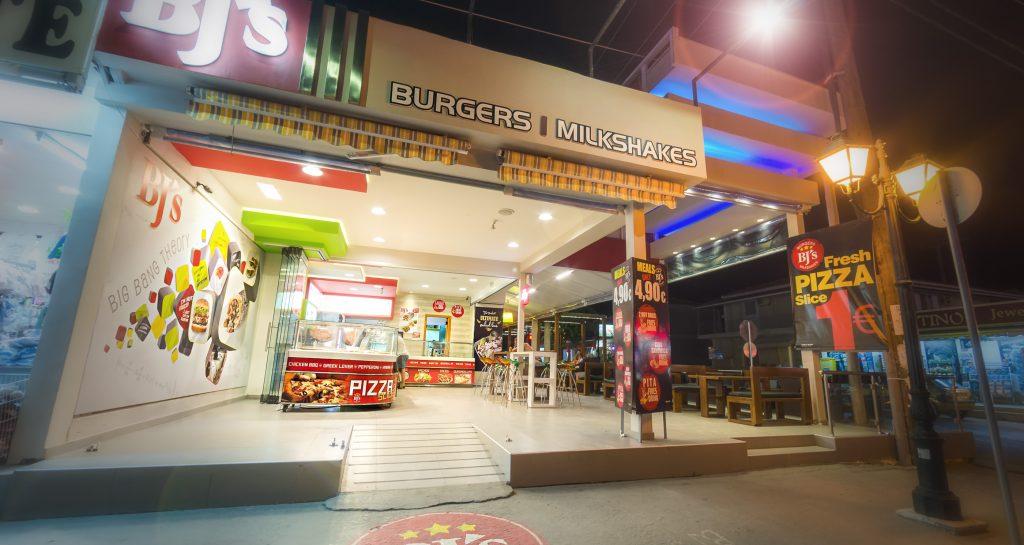Bj's Burgers & Milkshakes