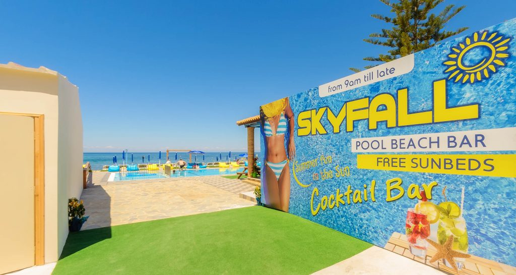 Skyfall Pool Beach Bar