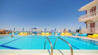 skyfall pool beach bar zante zakynthos
