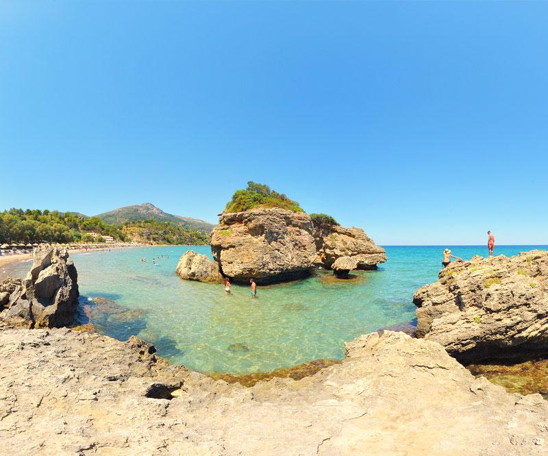 porto azzuro beach zante zakynthos