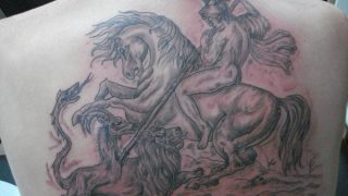 cross bones family art tattoo spyros zante zakynthos