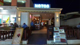 notos cafe bar zante zakynthos