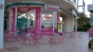yolicious greek frozen yogurt zante zakynthos