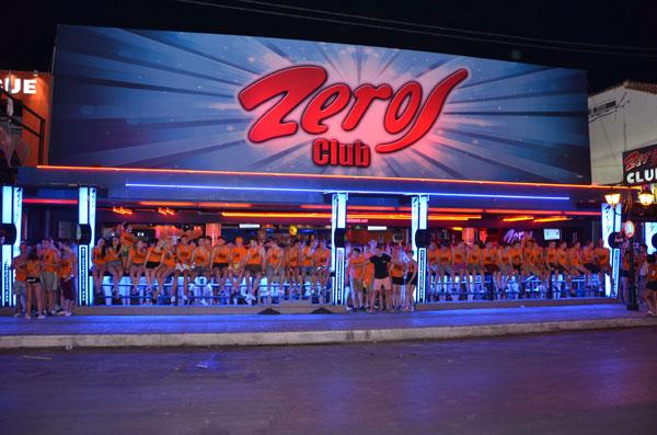 Zeros Club Laganas Zakynthos Zante